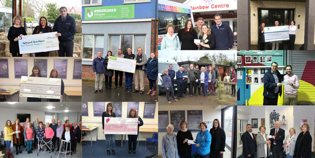 Cable Services donates over £50,000 to local charities