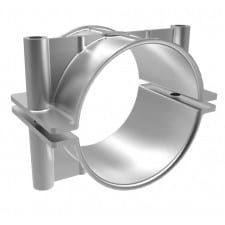 Metallic Single-Cable Cleats