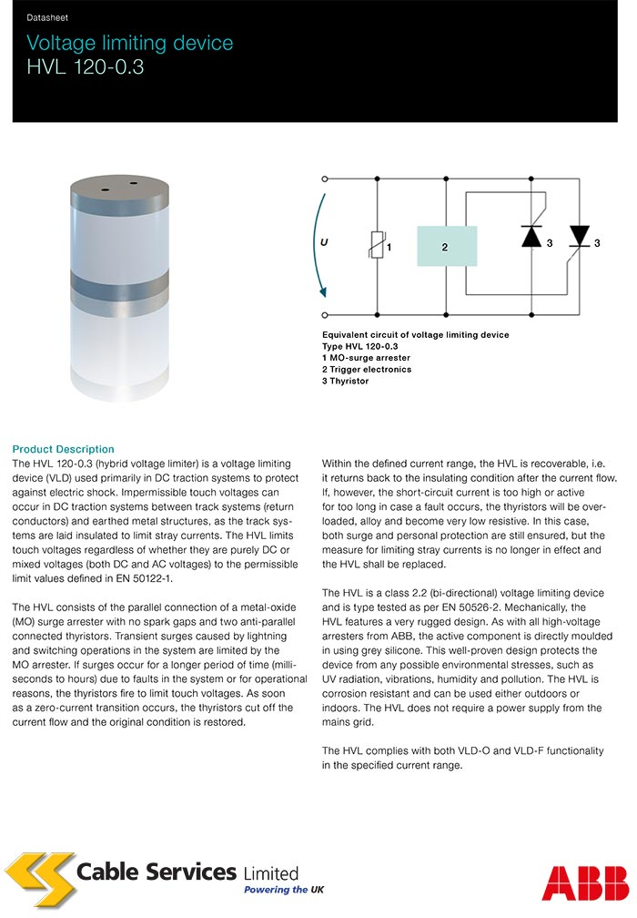 CS ABB Voltage Limiting Device