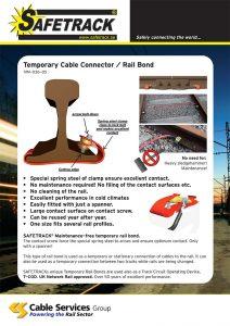 Temporary Cable Connectors / Rail Bond